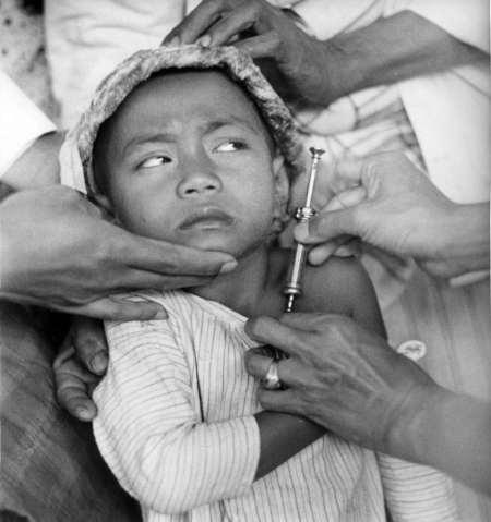 Vaksinasi di Jawa, 1941