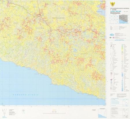 contoh tampilan peta RBI