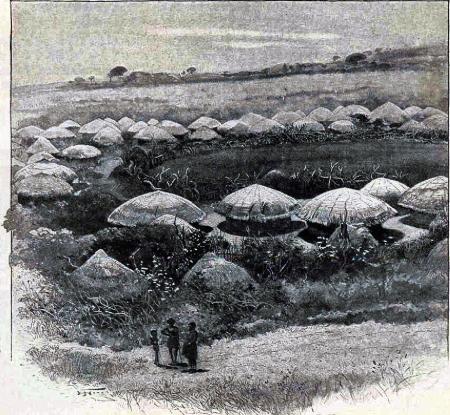 Kraal adalah bentuk tipikal desa atau komunitas Afrika. Pertanian dan penggembalaan dilakukan dengan berpusat pada kraal.