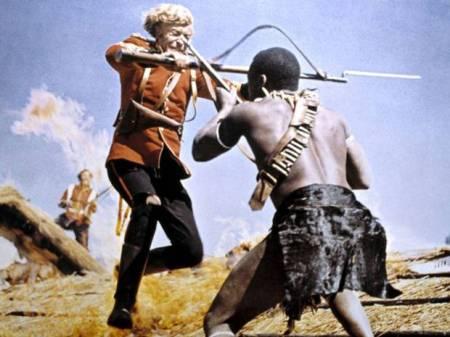 Film Zulu (1964)  adalah bentuk romantisasi keterlibatan Inggris di Afrika