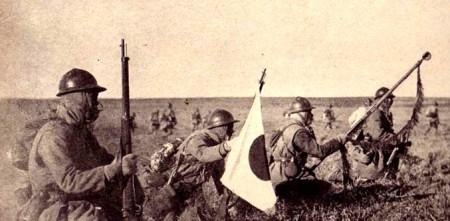 Infantri Jepang dalam aneksasi Manchuria