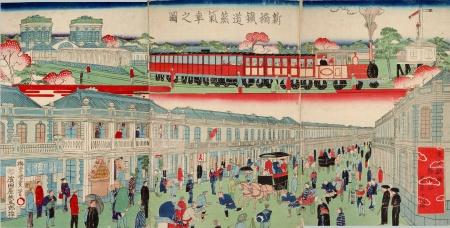 Jepang mampu memproduksi sendiri mesin-mesin uap yang digunakan dalam pembangunan era Meiji.